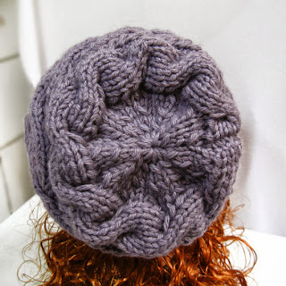 Knitting Pattern Hat Slouchy, PDF Knit Hat Pattern