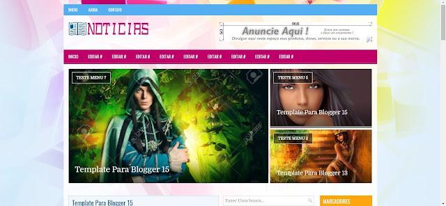 Template para Blog | Layout e Temas para Blog | Modelo de Blog