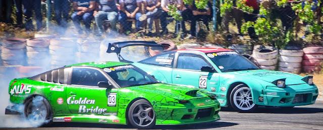 sezonun  İlk drift yarışı yapıldı