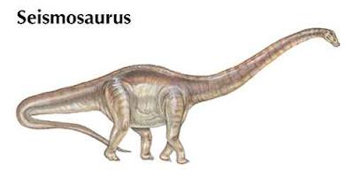 Nama-Nama Dinosaurus Seismosaurus