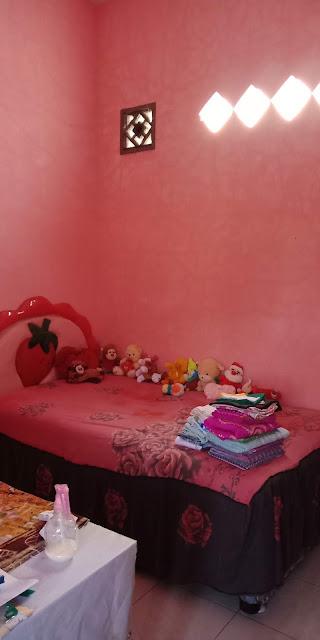 Kamar Tidur Rumah Murah Dijual Di Jl Flamboyan 8 Dekat Pajak Melati Medan Sumatera Utara