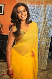 Dimple Chopade Pictures in Yellow Saree ~ Celebs Next
