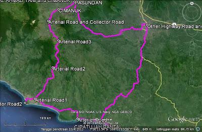 Rute Trip Tasikmalaya-Cipatujah-Sindangkerta-Pameungpeuk-Garut-Tasikmalaya