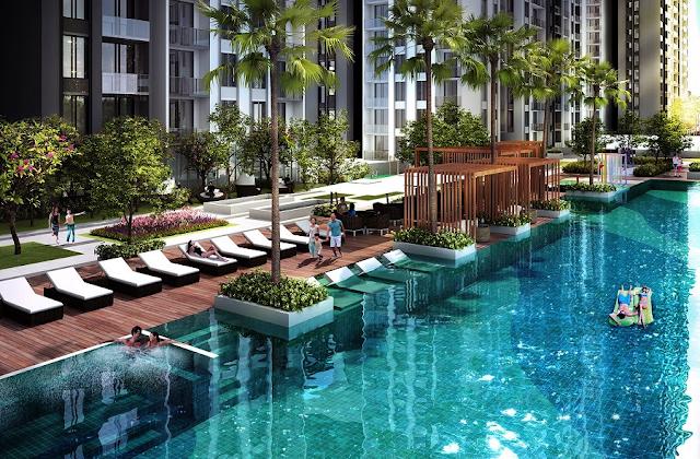 thiết kế không gian tiện ích tại chung cư Marriot Đà Nẵng