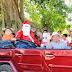 Caravanas Navideñas con Santa y Panchito llegan a comunidades rurales de Mérida