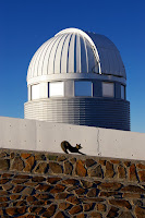 Fox and Swiss 1.2-metre Leonhard Euler Telescope at ESO's La Silla Observatory