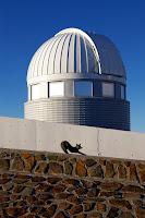 Fox and Swiss 1.2-metre Leonhard Euler Telescope at ESO's La Silla Observatory