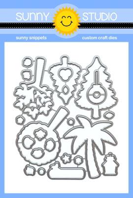 Sunny Studio Stamps: Seasonal Trees Low Profile Metal Cutting Dies