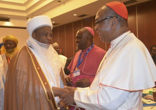Sultan, Onaiyekan lead inter-faith parley on peaceful elections