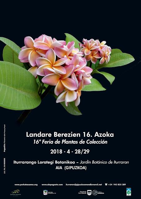 Cartel de la Feria de Plantas de Iturraran