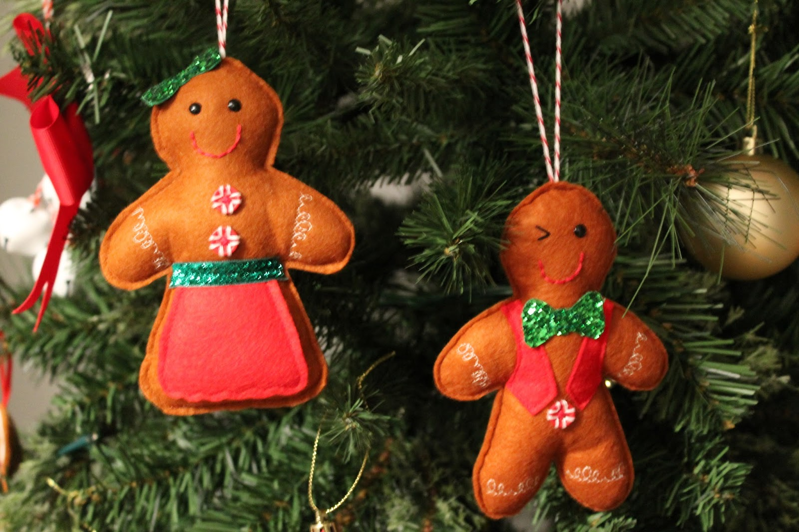 Christmas House Decorations - Gingerbread