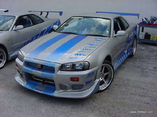 Fast and Furious 2 Nissan Skyline GT-R