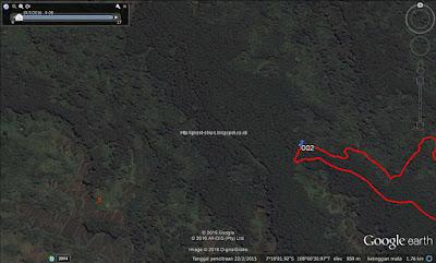 Finish di kawasan hutan pinus Perum Perhutani