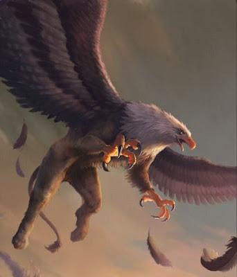 Criatura mitologica grifo