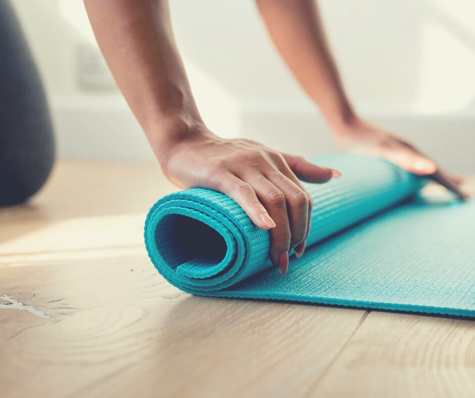 How I Take Care Of Myself A Little Every Day | I attend a yoga class every Saturday - and it's awesome!