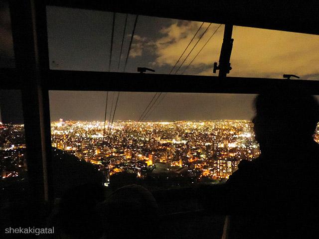 Sapporo Japan, Sapporo Jepang, Hokkaido Sapporo, Mount Moiwa Okura Tour, Sapporo Night Tour, Sapporo Winter Night View Tour