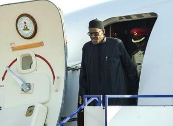 buhari return nigeria