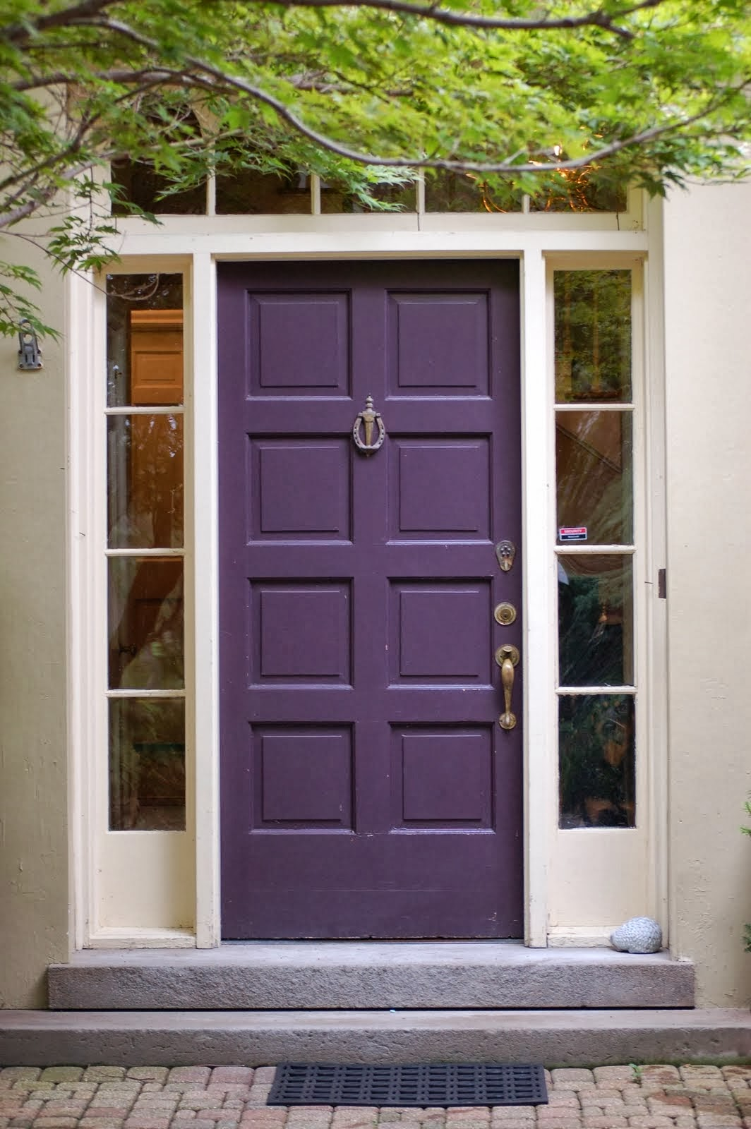 Alejandra Creatini: Decorating with Color - Front Door ... on Door Color Ideas  id=30887