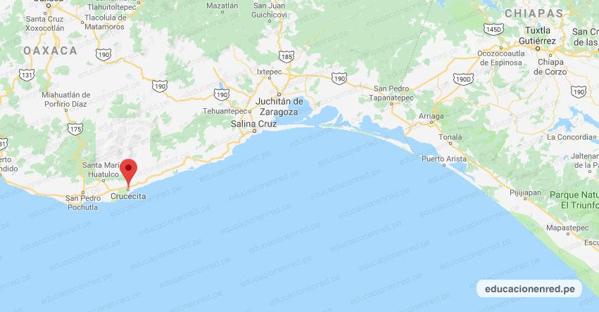 Temblor en México de Magnitud 4.3 (Hoy Miércoles 22 Julio 2020) Sismo - Epicentro - Crucecita - Oaxaca - OAX. - SSN - www.ssn.unam.mx