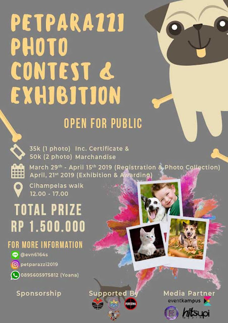 Lomba Foto & Exihibiton Contest Petrapazzi 2019 Untuk Umum di Bandung