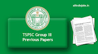 TSPSC Group III Previous Papers