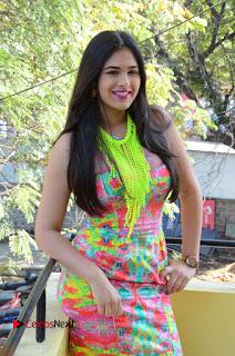 Telugu Actress Prasanna Stills in Short Dress at Inkenti Nuvve Cheppu Press Meet Stills  0062.JPG