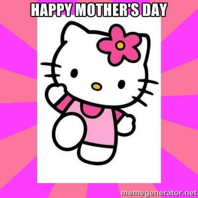 Happy mother's day hello kitty images for whatsapp facebook