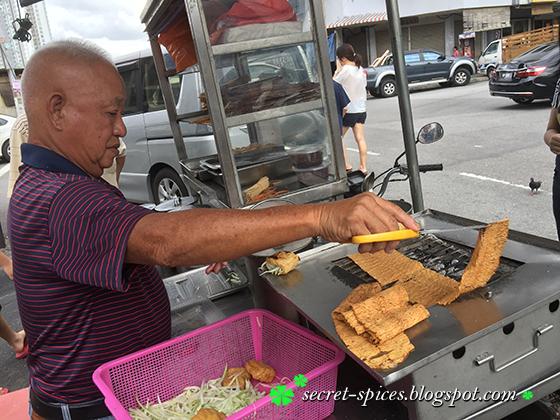 Charcoal Grilled Squid (Sotong Panggang), KL, Malaysia