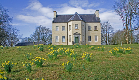 Lord belmont in northern ireland ballinderry park for Georgian house plans ireland