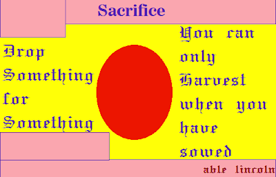 Sacrifice: What You must Lose to Gain
