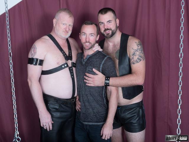 Rusty McMann, Aiden Storm and Alex Hawk