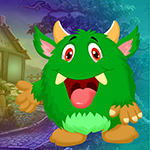 Games4King - Green Monster Escape
