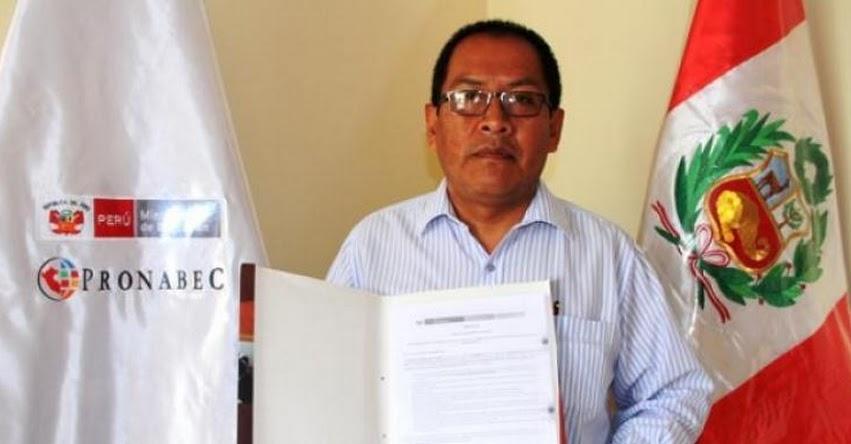 Docente de Ica beneficiario del PONABEC se especializará en Colombia - www.pronabec.gob.pe