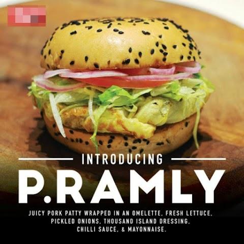 Burger Babi Dinamakan P.Ramly