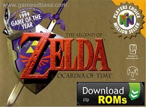 Game The Legend of Zelda Ocarina of Time Rom N64 [U] Mega