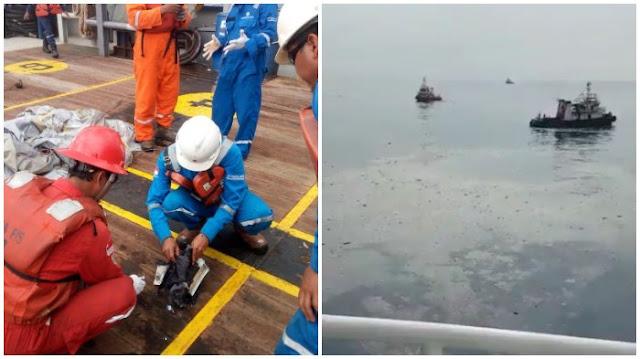 Video Evakuasi Pesawat Lion Air JT-610 yang Jatuh di Perairan Karawang, Ditemukan Beberapa Serpihan