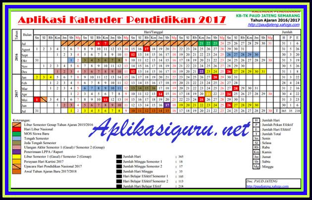 Download Aplikasi Kalender Pendidikan Tahun 2018