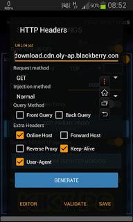Tutorial cara setting Aplikasi AnonyTun di Android Mudah Tanpa Root