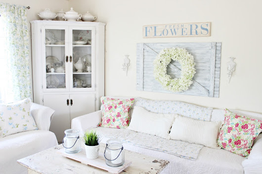 Decorate With Me | Spring Living Room