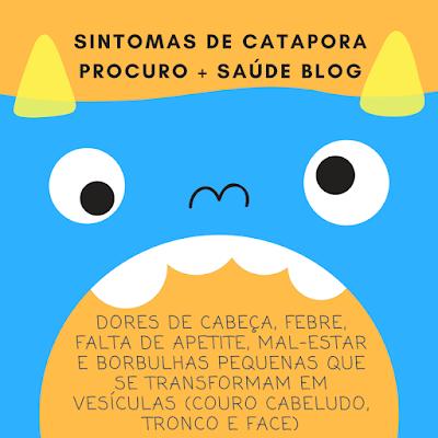 Sintomas de catapora