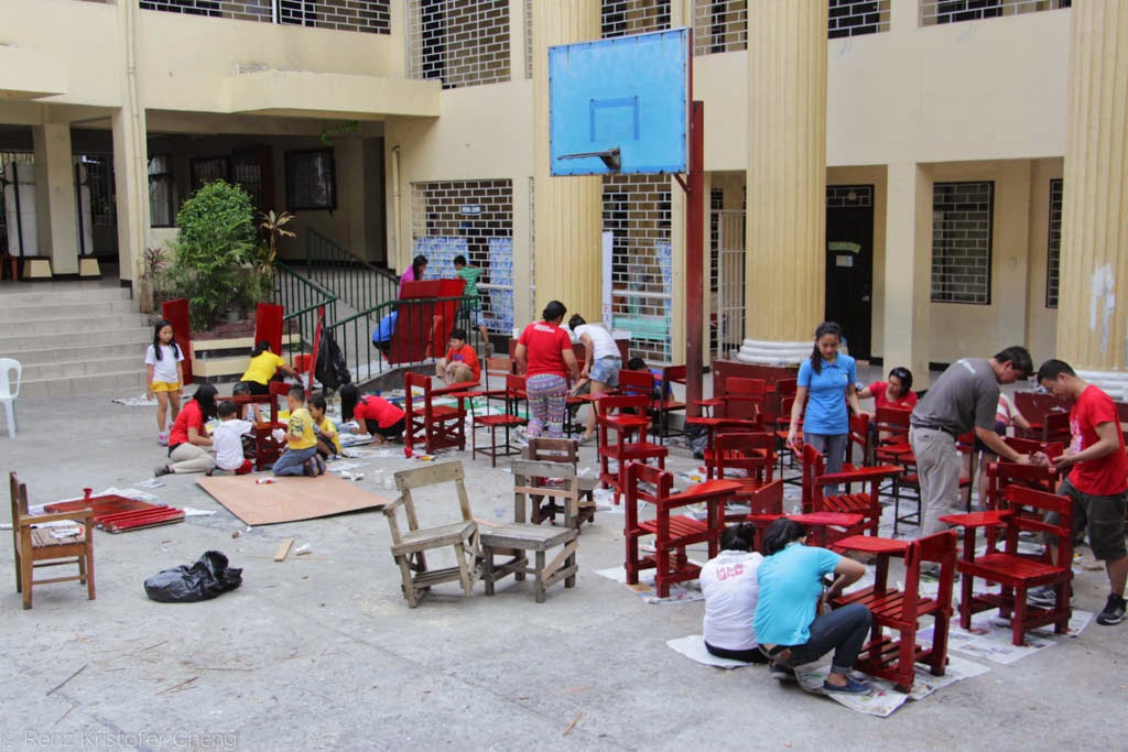 Renovate to Educate - Nueve de Febrero Elementary School