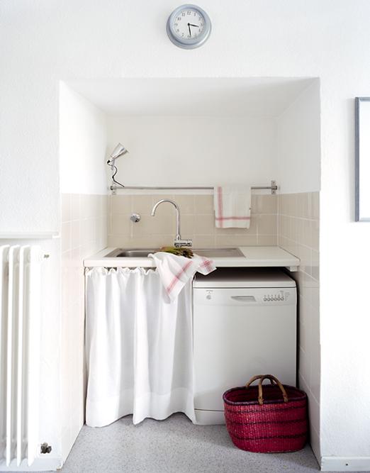Cosas de palmichula decorando el lavadero de manera pr ctica for Fregadero ropa