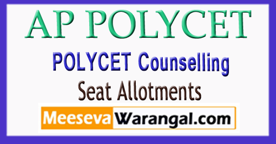 AP Polytechnic(Polycet) Counselling Allotments 2018