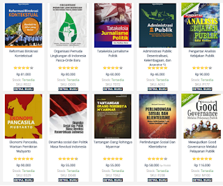Daftar Buku Lengkap UGM Press Cluster Sosial dan Humaniora