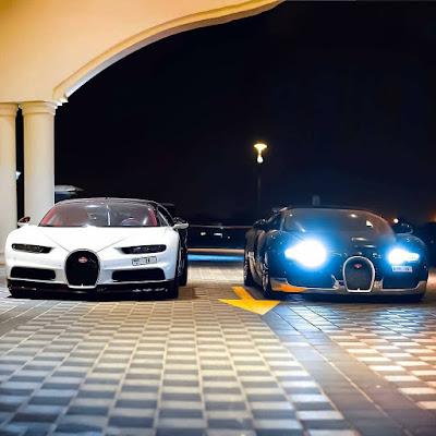 New Photos of Chiron & Veyron in Dubai