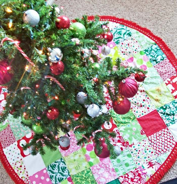 patchwork tree skirt