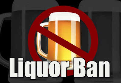 Liquor Ban imposed today, October 27 and 28 (Barangay Election 2013)