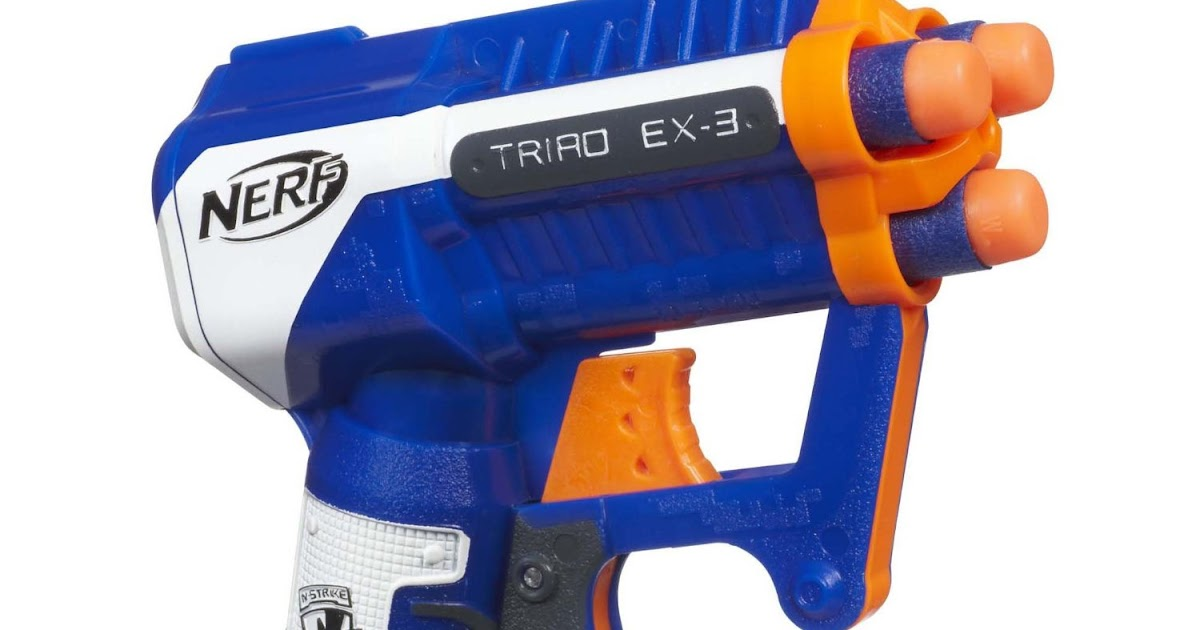 Outback Nerf: Nerf Elite Triad EX-3 Review (20m grey ...