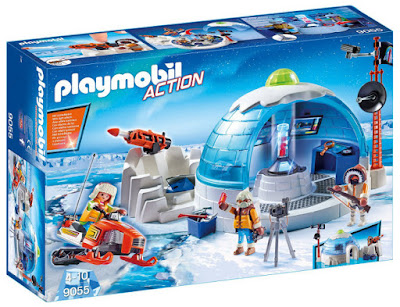 JUGUETES - PLAYMOBIL Action  9055 Base Polar | Cuartel General  2017 | Comprar en Amazon España