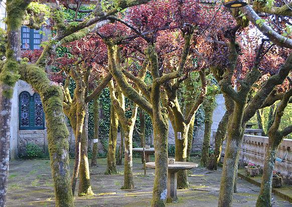 Jardines del pazo Faramello en A Coruña para celebrar vuestra boda